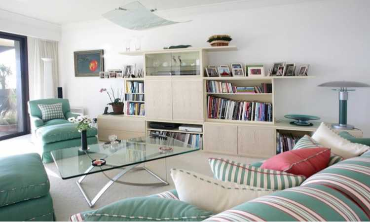 Large apartment in Jardin Exotique/Monaco with a sea…