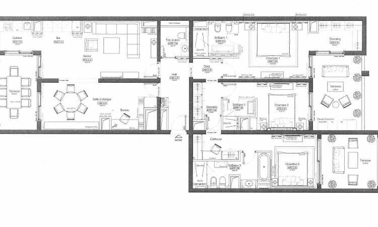 Gallery Modern 3 bedroom apartment 7
