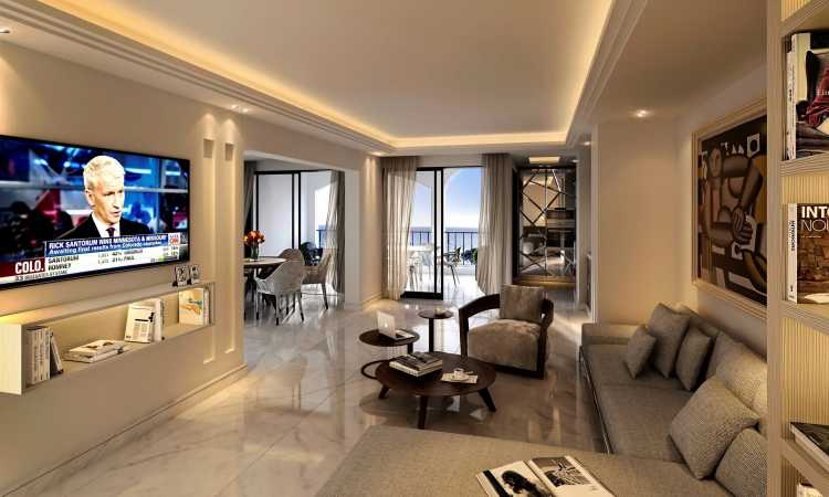 Modern 3 bedroom apartment in Fontvieille